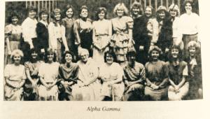 alpha gamma 20th